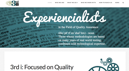 3rd i Website Redesign